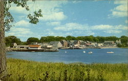 Picturesque Village Of Damariscotta
