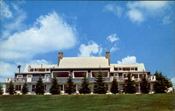 Sky And Lake Lodge Motel And Restaurant Inc Postcard