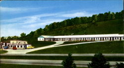 Johnson's Motel & Restaurant, Lee Highway Route 11 Postcard