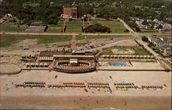 Aerial View Of The Famed Cavalier Beach