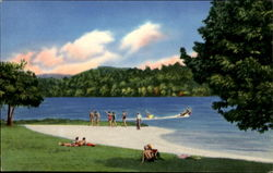 Bathers On The Beach, Claytor Lake State Park
