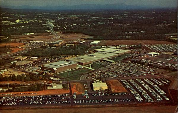 Aerial View Of Textile Hall, Exposition Avenue Greenville South Carolina
