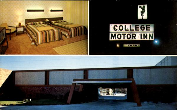 College Motor Inn, 491 East Main Street Spartanburg South Carolina