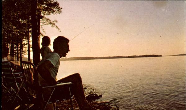 Fishing On Lake Greenwood State Park Greenwood County Sc