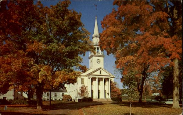 1St Congregational Church On The Green Cheshire Connecticut