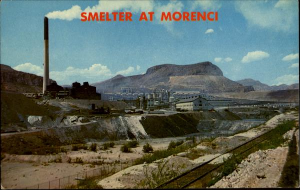smelter  morenci arizona