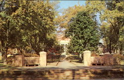 Entrance To Anderson College