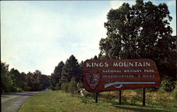 Eastern Entrance, Kings Mountain National Military Park