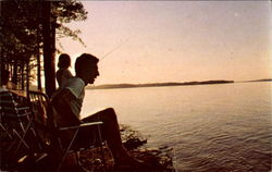 Fishing On Lake, Greenwood State Park