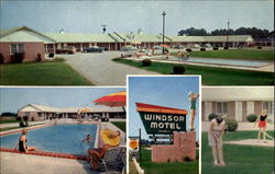 Windsor Motel And Dining Room, U. S. 301 and 15
