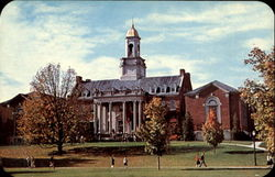 Wilbur Cross Library, The University of Connecticut Postcard