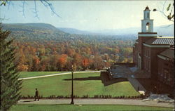 View From Hartwick College Campus