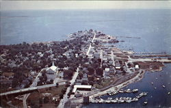 Air View Of Stonington Borough
