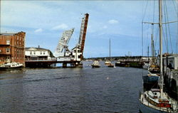 The Drawbridge Across The Mystic River