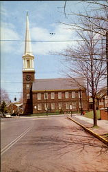 Old Stone Church Congregational Postcard
