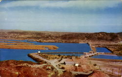 Imperial Dam On The Colorado River North Of Yuma