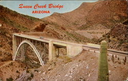 Queen Creek Bridge, U. S. Hwy. 60 & 70