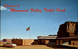 Entrance To Monument Valley Tribal Park