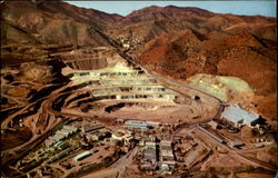 Phelps Dodge Corporation's Lavender Open Pit Copper Mine
