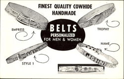 Finest Quality Cowhide Belts