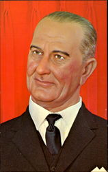 Lyndon B. Johnson Wax Figure