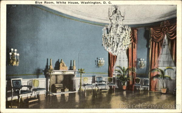 Blue Room, White House Washington District of Columbia