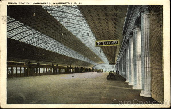 Union Station Waiting Room, Concourse Washington District of Columbia