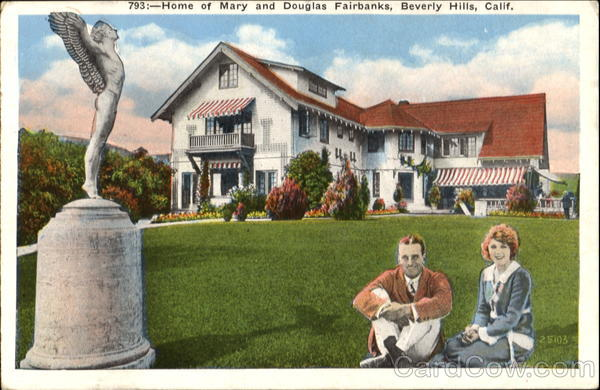 Home Of Mary And Douglas Fairbanks Beverly Hills California