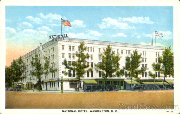 National Hotel Washington District of Columbia