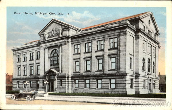 Court House Michigan City Indiana