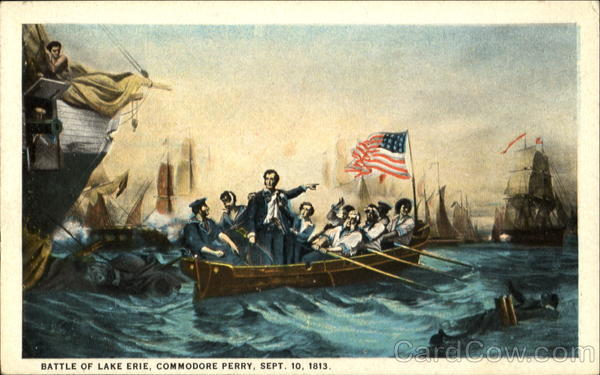 Battle Of Lake Erie Commodore Perry Military