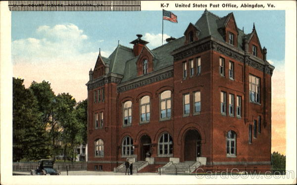 United States Post Office Abingdon Virginia