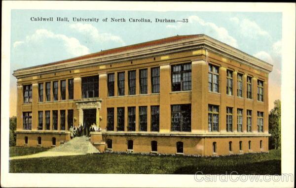Caldwell Hall, University Of North Carolina Durham