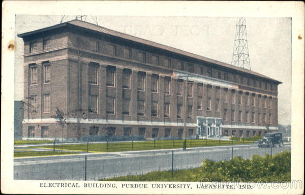 Electrical Building, Purdue University Lafayette Indiana
