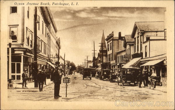 Ocean Avenue South, Patchogue Long Island New York