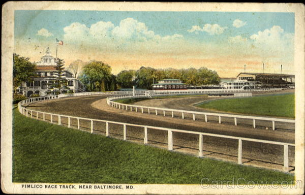 Pimlico Race Track Baltimore Maryland