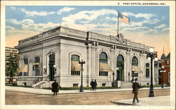Post Office Anderson Indiana