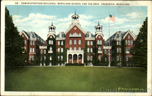 Administration building frederick md for Cost to build a house in maryland