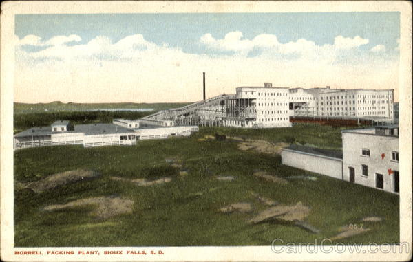 Morrell Packing Plant Sioux Falls South Dakota