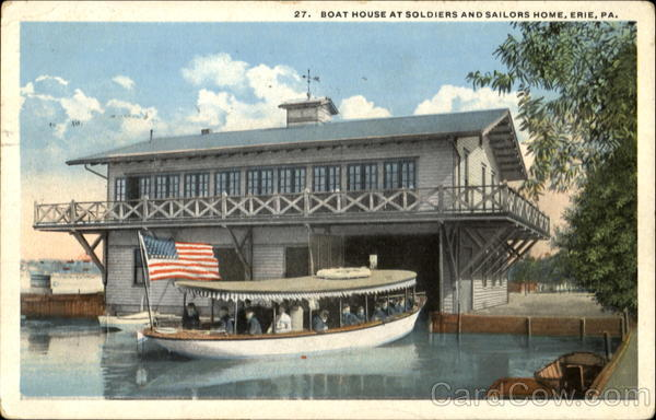Boat House At Soldiers And Sailors Home Erie Pennsylvania