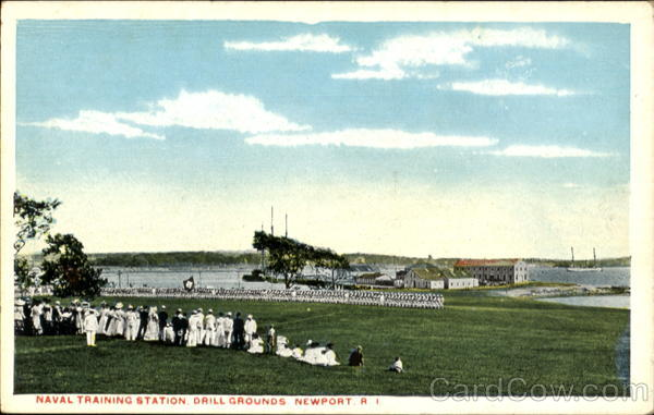 Drill Grounds, Naval Training Station Newport Rhode Island