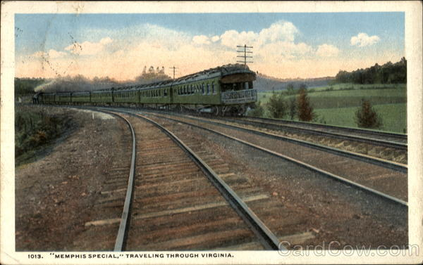 Memphis Special Trains, Railroad