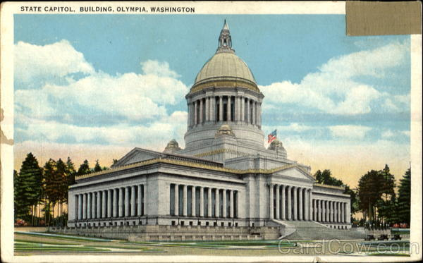 State Capitol Building Olympia Washington