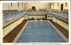 Salt Water Natatorium, Huntington Avenue Branch