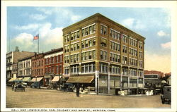 Hall And Lewis Block, Cor. Coloney & Main Street