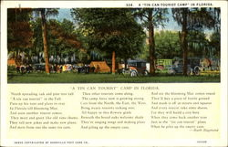 A Tin Can Tourist Camp In Florida