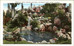 Tropical Rock Garden And Pool, Bayfront Park