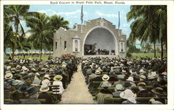 Band Concert In Royal Palm Park