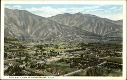 Bird's-Eye View Of Sierra Madre
