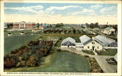 Bird's Eye View Of Agricultural Farm, Rutgers College